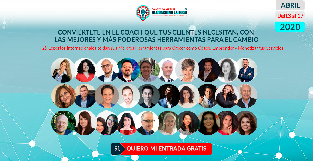 Congreso Virtual Coaching Exitoso – 13 al 17 de Abril 2020